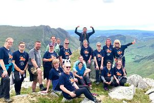 A group of 18 trekkers took on the 5 Peaks Challenge in the Lake District in aid of St Catherine's Hospice O208BvI9jDX5b2yaF0lr