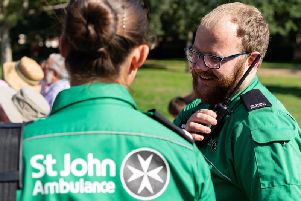St John's Ambulance are looking for more volunteers