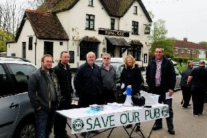 Objections to village pub plans