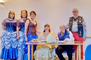 Pam and Ian Sheppard from Littlehampton tied the knot at a ceremony in Worthing Register Office, Durrington