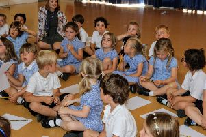 Author visits are having a positive impact at Steyning CE Primary School