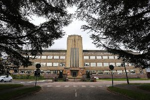 The Art Deco building is set to be retained as part of the redevelopment of the former Horsham Novartis site