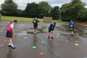 All Saints CE Primary School in Horsham have received a  free Premier League Primary Stars equipment pack SUS-190813-155123001