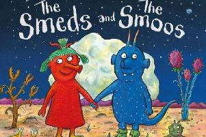 Julia Donaldson will be at Steyning Bookshop signing copies of her news book 'The Smeds and The Smoos' SUS-190409-163200001