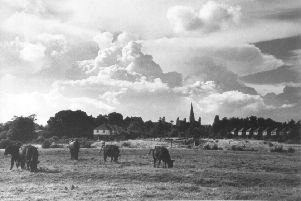 View from Chesworth in the 1950s