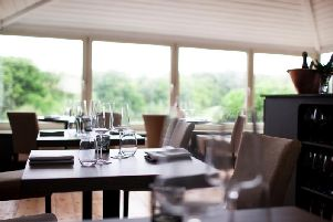 Enjoy the views at this perfect lunchtime dining spot