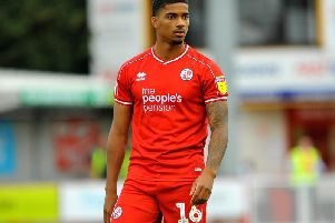 Crawley Town's Mason Bloomfield. Picture by Steve Robards