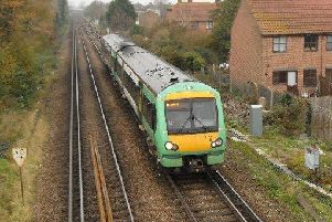 Travel has been disrupted from Three Bridges to Horsham