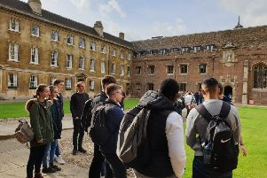 Students at Cambridge university