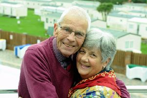 David and Evelyn Cattle, who met at Bunn Leisure