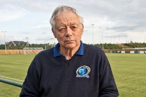 Broadbridge Heath chairman Keith Soane has been nominated for the BBC Sussex Unsung Hero Award. Picture courtesy of Sam Chapman