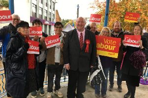 Michael Jones is the Horsham Labour Party candidate in the 2019 general election