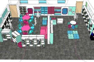A 3D image of the new childrens library in Burgess Hill. Picture: Burgess Hill Town Council