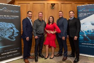 SigniFlow's global directors. Photo by Andy Hannant