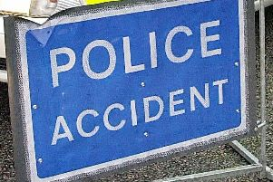 The A23 is blocked following the collision