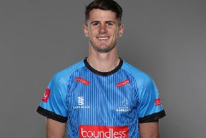 Horsham and Sussex star George Garton. Picture courtesy of Getty Images