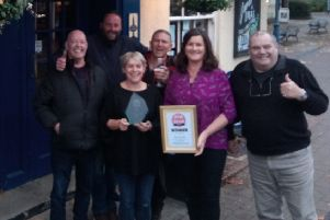 The Kings Head in Billingshurst has won Pub of the Year for a second year running SUS-191118-105905001