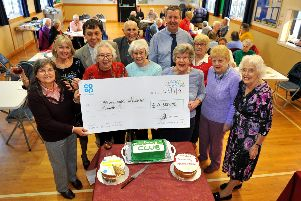 Southwater Welcome Club meeting ahead of 60th anniversary year. Pic Steve Robards SR27111902 PNL-191127-203107001