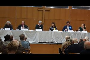 Candidates line up at Horsham election hustings organised by Horsham Churches Together