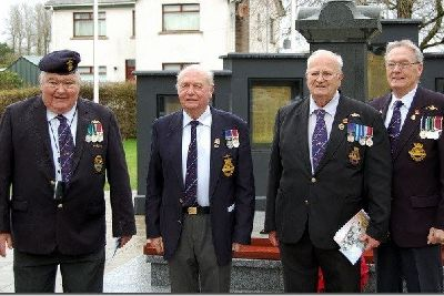 Dervock's 11th parade and wreath laying - Ballymoney and