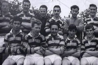 An Early Dromore Amateurs Side Back Row A Brown D Miskimmons C