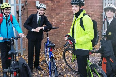 44d92d5d1 Travel plan for cyclists at school in Bedford wins award - Bedford Today
