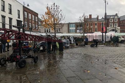 VIDEO: Rob Lowe begins filming ITV drama Wild Bill in Boston