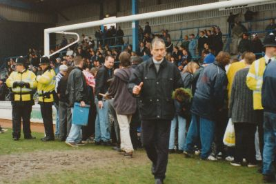 The last game at the Goldstone Ground remembered 20 years on