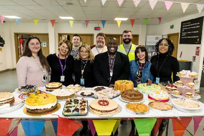 Amazon's Dunstable bake for Walk to Freedom charity is