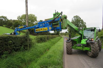 Co Tyrone dealer trimming the cost of hedge cutting