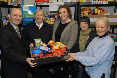 Foodbank Chosen To Be Larne Mayors Charity Larne Times