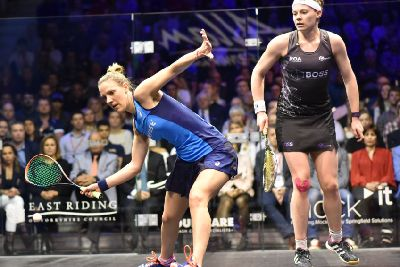Perry loses out to Massaro in the final of the British Open