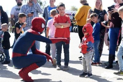 See your favourite superheroes at Retroplay in Leighton