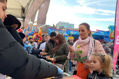 Luton Families Enjoy Holiday Funfair Thanks To Be A Good