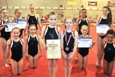 Young City Gymnasts Make The Grade In Style Milton Keynes