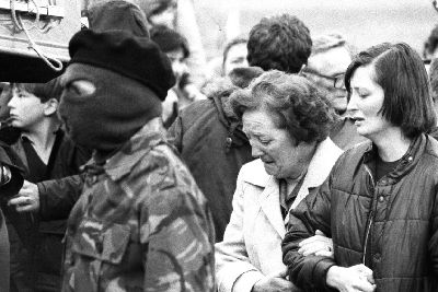 Sinn Fein's Gerry Adams in tribute to mother of Bobby Sands