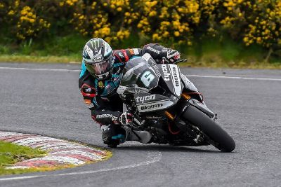 PICTURES: Michael Dunlop tests Tyco BMW at Kirkistown