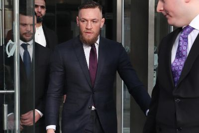 Conor McGregor appears in court to face road traffic charges