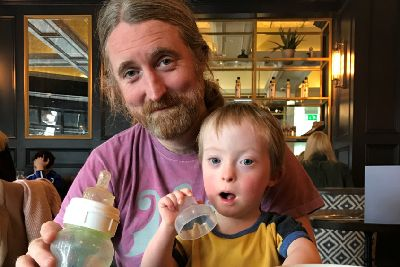 Down's Syndrome doesn't define my son says rock star Cormac