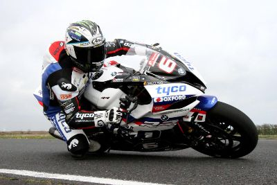 FIRST PICTURES: Michael Dunlop tests new Tyco BMW at