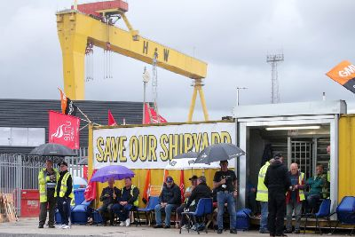 Harland and Wolff: Public meeting to discuss options for