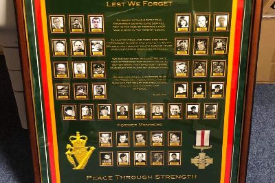 New memorial tribute to fallen of 6 UDR in Co Tyrone