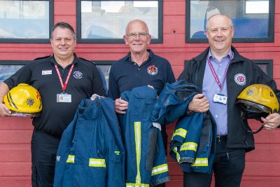 Hand-me-down Northamptonshire fire kit will find new purpose