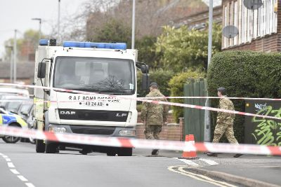 Bomb squad called as Peterborough road cordoned off for