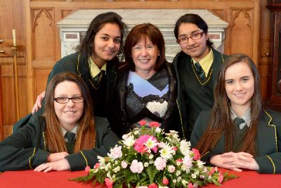 School principal says farewell after her '40-year labour of