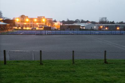 Inspection of hockey pitch stops play at Killicomaine