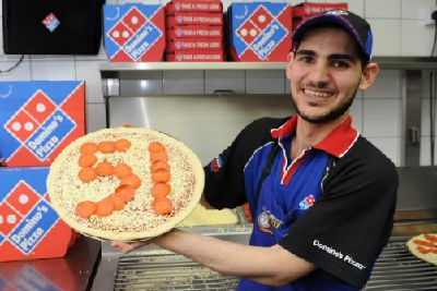 Top That Zagros Is Named Fastest Pizza Man For Second Year