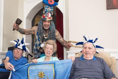 Three weeks to go until Portsmouth turns blue for Tom Prince