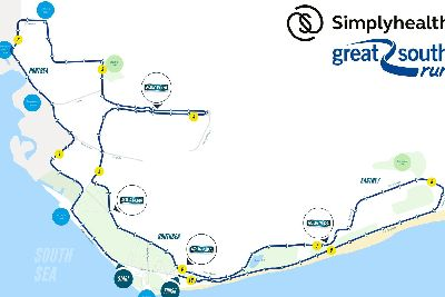 Great South Run 2018: Here's the route for this year's run ... on map a drive, map a cut, map a path, map a run, map a process, map a distance, map a course,