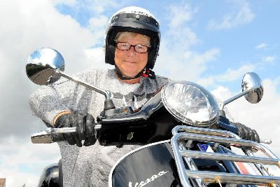 300-strong Vespa rally will take Portsmouth woman with